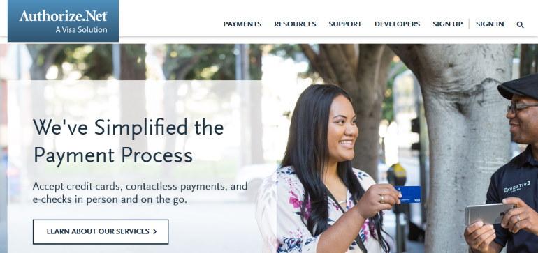 authorize.net wordpress payement gateways