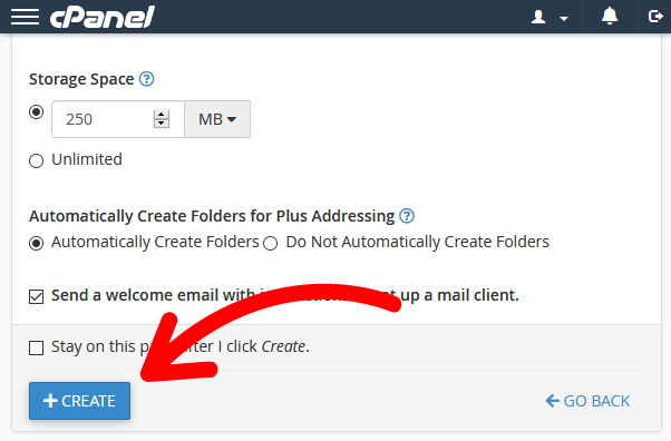 finish creating email how to use custom domain with gmail