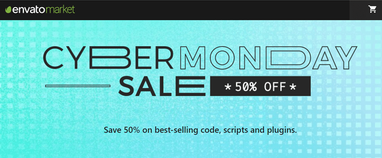Envato Code and Plugins Sale Cyber Monday 2020
