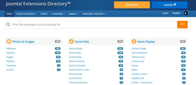 Joomla Extension Repository