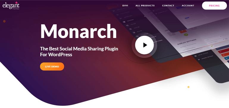 Complementos de Monarch Social Share para WordPress