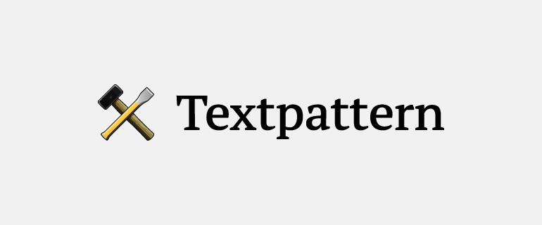 Textpattern Logo Banner