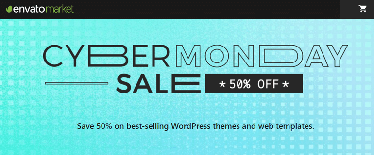ThemeForest Cyber Monday Themes Discount 2020