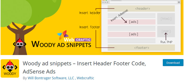 Woody ad snippets