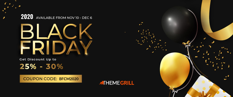 WordPress Black Friday Deal by ThemeGrill