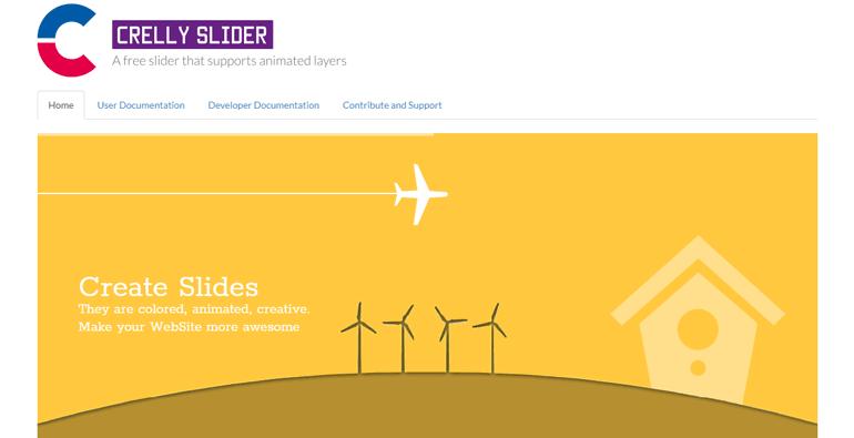 Crelly Slider Plugin WordPress