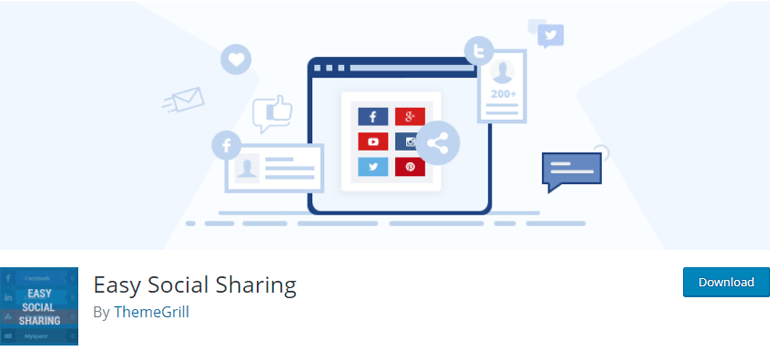 Easy Social Sharing Best Social Media Plugins