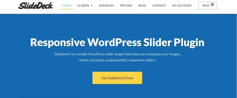 SlideDeck Responsive WordPress Slider Plugin