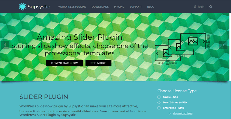 Slider Plugin by Supsystic