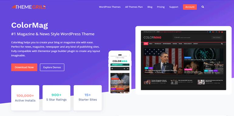 ColorMag Best WordPress Magazine Theme