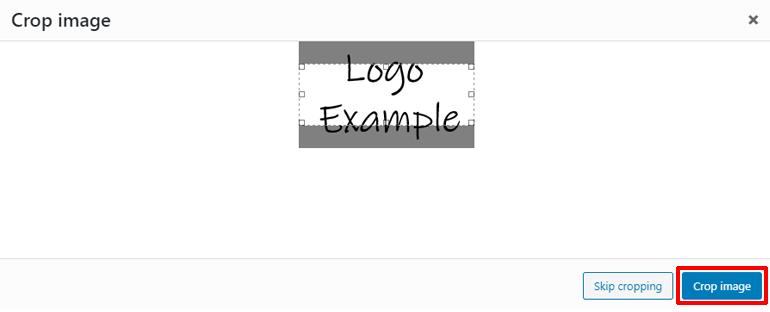 Crop Site Logo