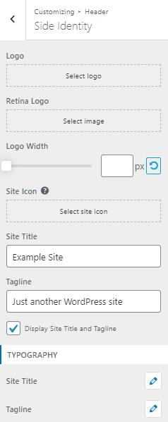 Inside Site Identity Tab