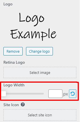 Logo Width