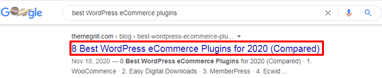 Long Tail Keywords in Title Tags