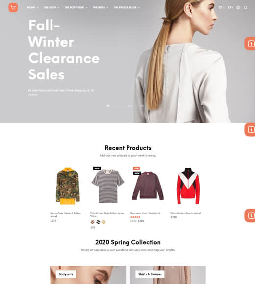 shopkeeper best theme for woocommerce and elementor
