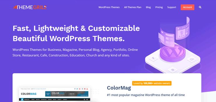 ThemeGrill - Best WordPress Theme Provider