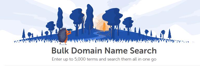 Domain Bulk Search