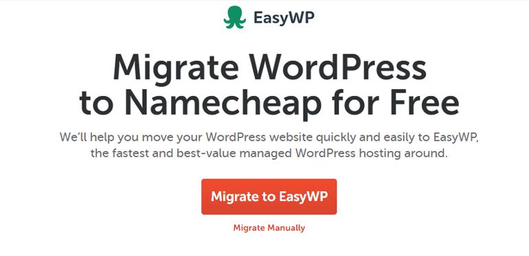 Namecheap Review Migrate WordPress