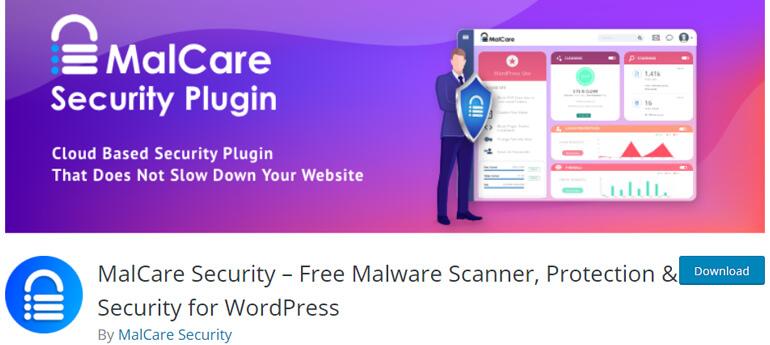 malcare security wordpress security plugins
