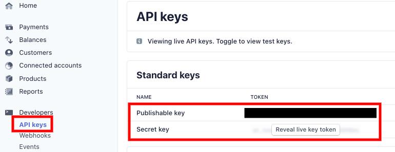 api keys how to create a donation form in wordpress