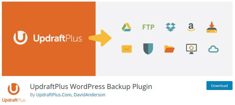 updraftplus wordpress security plugins