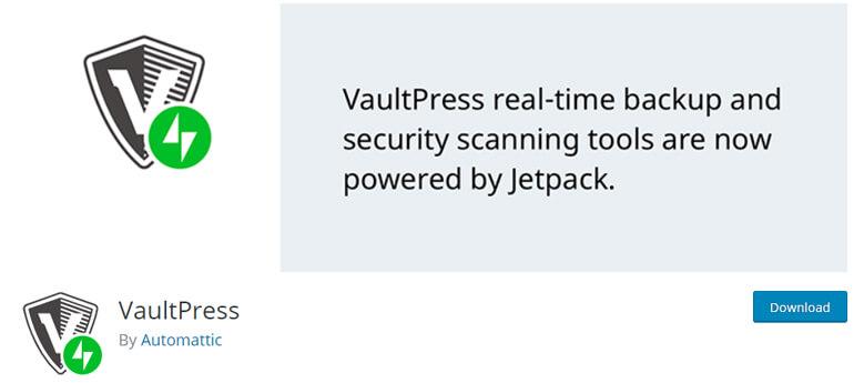 vaultpress wordpress security plugins