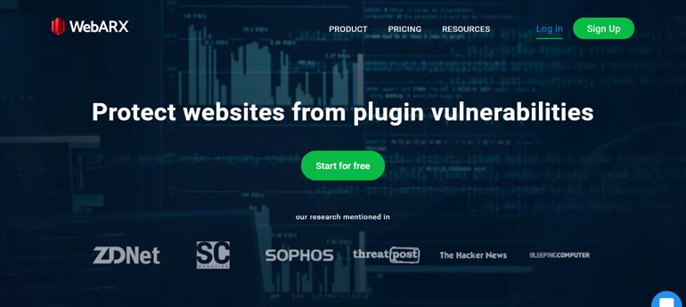 webarx wordpress security plugins