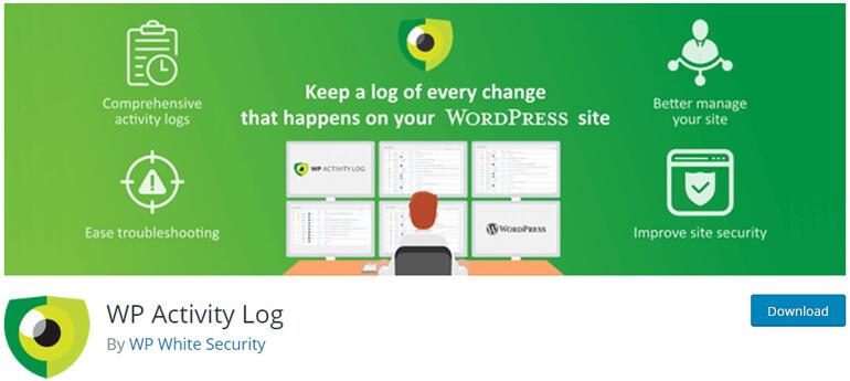 wp activity log wordpress security plugins