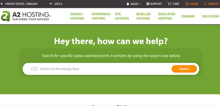 A2 Hosting Customer Support Best Domain Registration Site