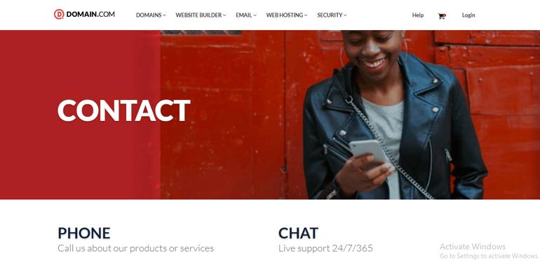 Domain.com Customer Service