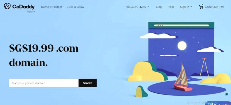 GoDaddy Cheap Domain Name