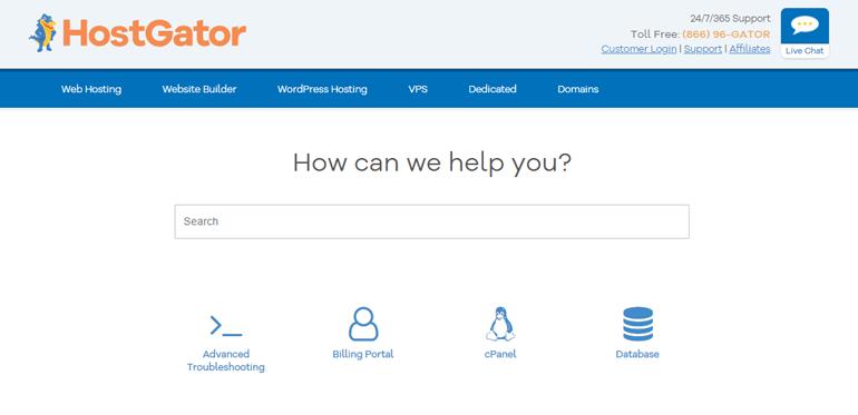 HostGator Customer Service