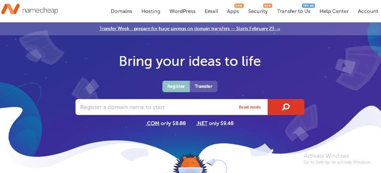 Namecheap Cheap Best Domain Registration Sites