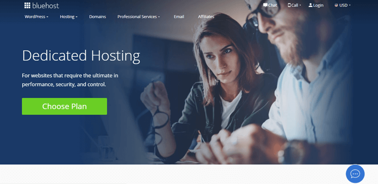 Bluehost Dedicated Hosting Review