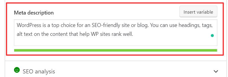 Entering Meta Description in WordPress to Rank Well