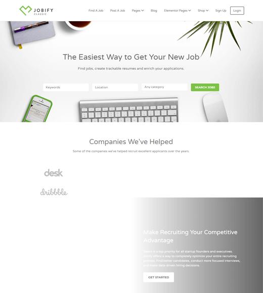 Jobify Job Board WordPress Themes