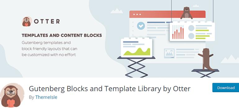 Otter wordpress gutenberg blocks plugins