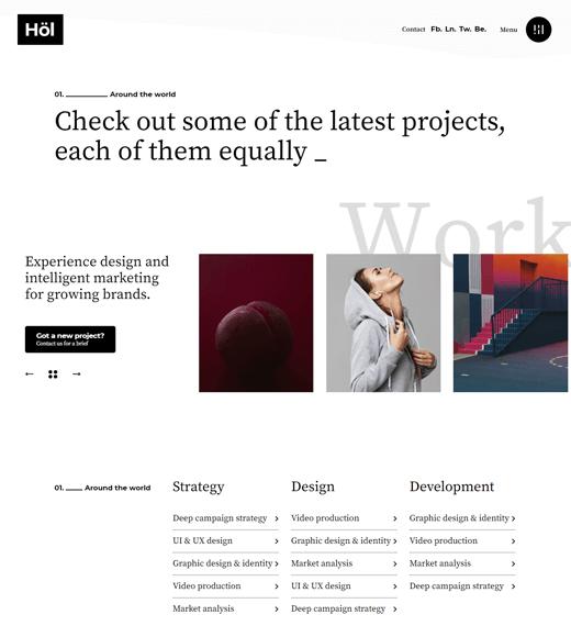 Holmes agency WordPress themes