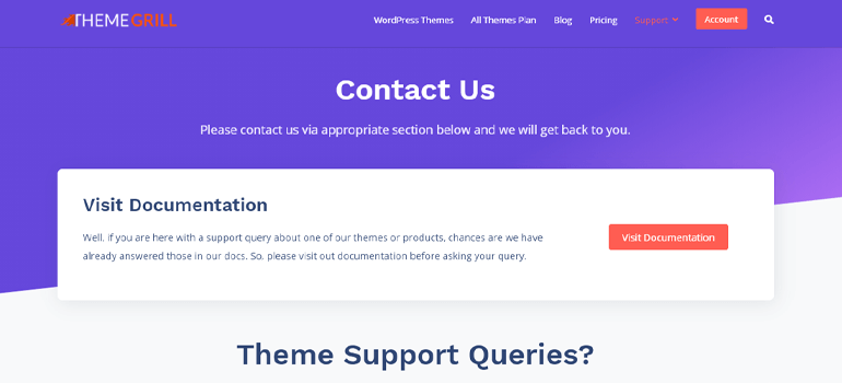 ThemeGrill Theme Support How to Make a Business Website in WordPress