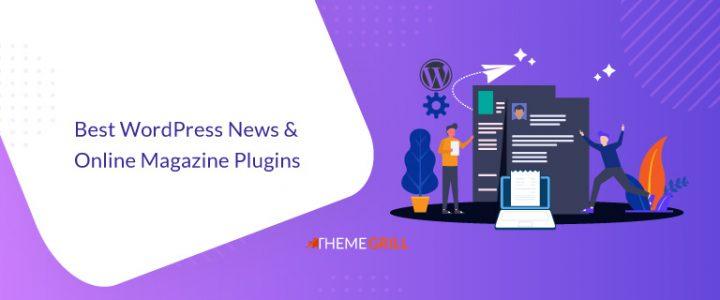 12 Best News and Online Magazine WordPress Plugins for 2021!