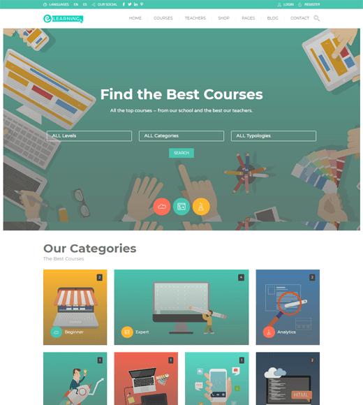 Education Pack WordPress Theme