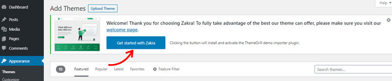 Get Started with Zakra Button