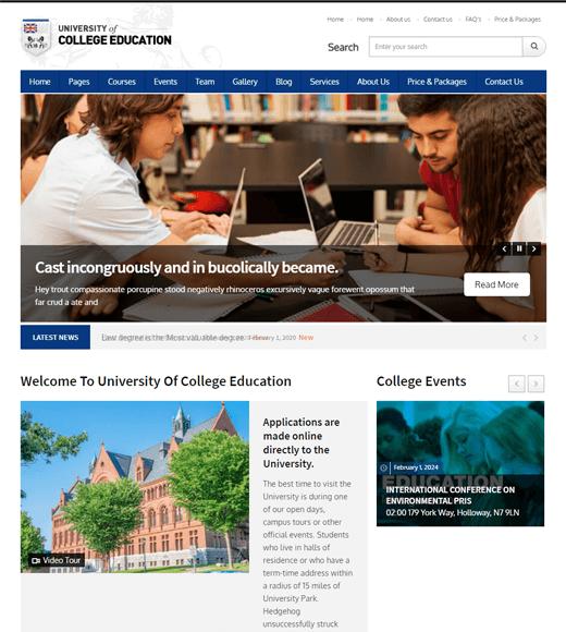 University of College Education