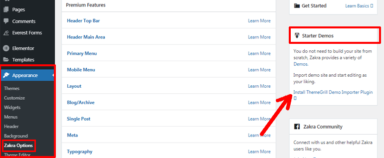 Zakra Theme Demo Importer Plugin Download