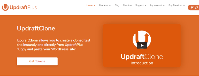 UpdraftClone WordPress Staging Plugin