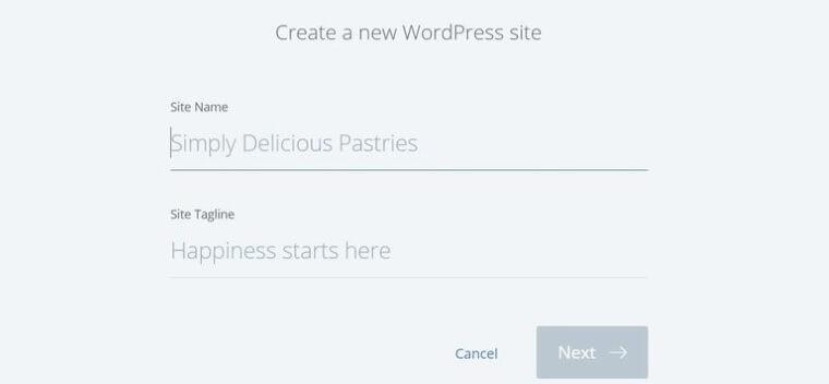 domain wordpress