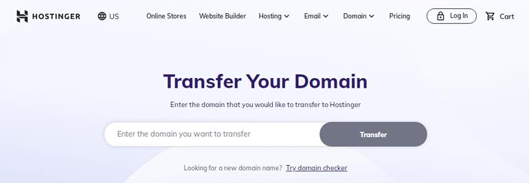 Domain Transfer Hostinger WordPress Hosting Review