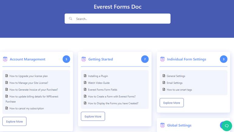 Everest Forms Documentation