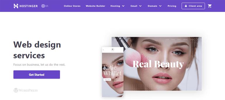 Hostinger Web Design Services