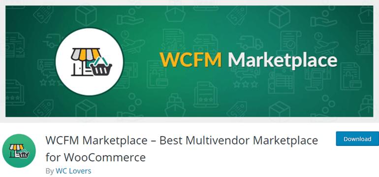 WCFM Marketplace Plugin